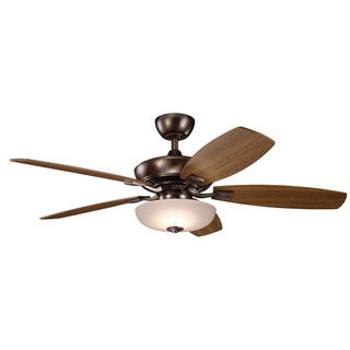 Kichler Lighting Canfield Pro Collection 52-inch Oil Brushed Bronze LED Ceiling Fan
