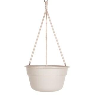 Bloem Dura Cotta 12-inch Taupe Hanging Basket