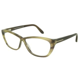 Tom Ford Rx - TF5227-050-FR Brown Stripe 54 mm Cateye Reading Eyeglass Frames