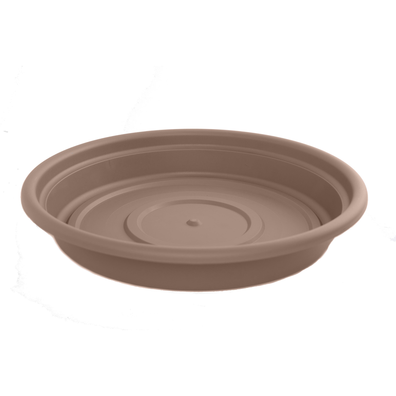 Bloem Dura Cotta 8-inch Chocolate Plant Saucer (Bloem Dur...