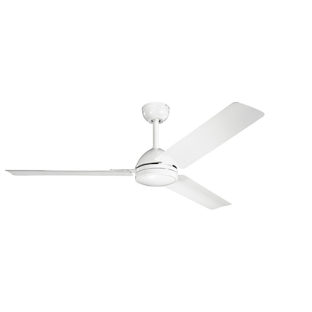 Collection 56 Inch White Ceiling Fan