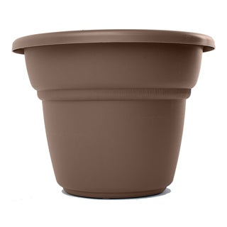 Bloem Milano 12-inch Chocolate Planter