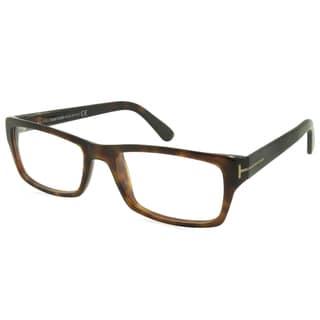 Tom Ford Rx - TF5239-052-54-FR Havana 54 mm Rectangle Reading Eyeglass Frames