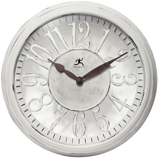 Infinity Instruments Chalet 15-inch Round Wall Clock