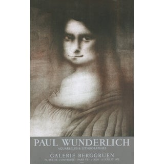 Paul Wunderlich 'Galerie Berggruen, Tears' 1972 Mourlot Lithograph
