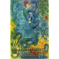 Marc Chagall 'The Magic Flute (Die Zauberflote) -1973' Poster Wall Art