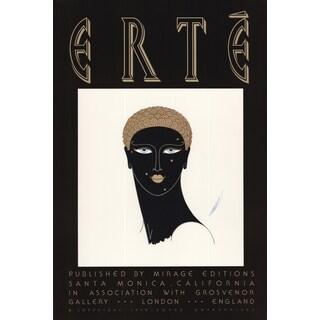 Erte 'Queen of Sheba - 1979' 30-inch x 20-inch Poster