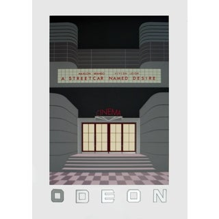 Perry King 'Odeon' 1986 Serigraph