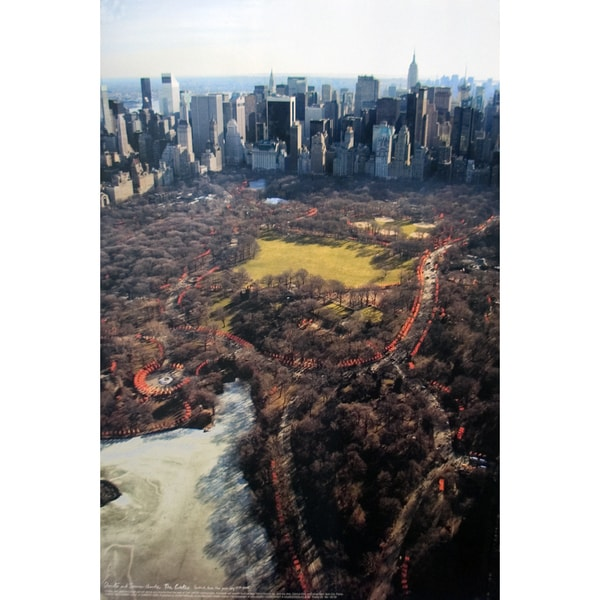 Javacheff Christo 'The Gates Project, Photo #25' Poster