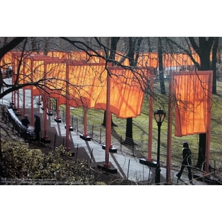 Javacheff Christo 'The Gates Project' 20-inch x 30-inch Photo Poster