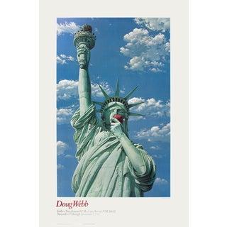Doug Webb 'Miss Liberty - 1981' 38-inch x 25-inch Poster