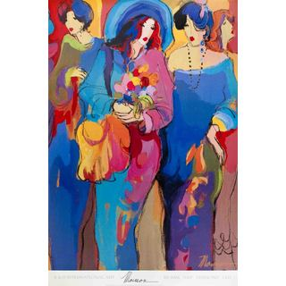 Isaac Maimon-Angels-1992 36-inch x 24-inch Poster