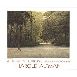 Harold Altman 'Central Park' 24 x 29.75-inch Mourlot Lithograph