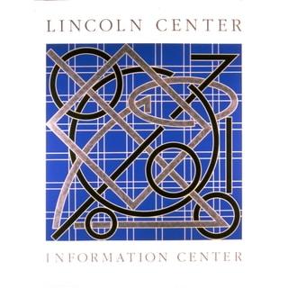 Valerie Jaudon Lincoln Center Information Center 1986 Serigraph