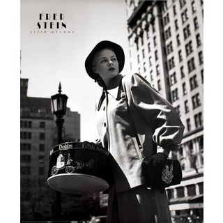 Fred Stein 'Fifth Avenue New York' 1989 Poster