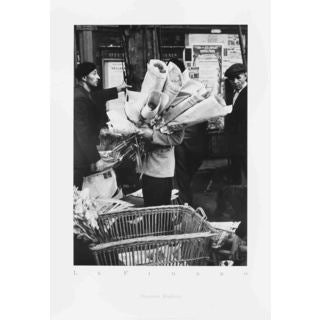 Thurston Hopkins 'Le Figaro - 1989' 30-inch x 21-inch Poster