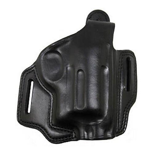 "Bianchi 5 Black Widow Leather Holster Black, Fits Taurus Judge 2.5"" Chamber, 3"" Barrel, Right Hand"