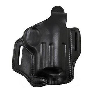 "Bianchi 5 Black Widow Leather Holster Black, Fits Taurus Judge 3"" Chamber, 3"" Barrel, Right Hand"