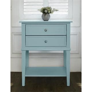 Altra Transitional Franklin Accent Table with Two Drawers