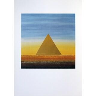 Eisenreich 'Pyramid Rainbow' 27.5-inch x 19.5-inch Poster