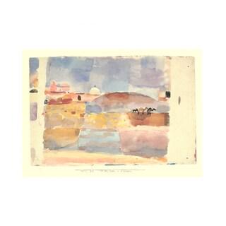 Paul Klee 'Vor den Toren v. Kairuan' 13.5 x 16.75 Poster