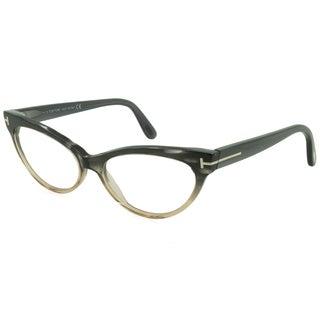 Tom Ford Rx - TF5317-020-54-FR Gray Horn 54 mm Oval Eyeglass Frames