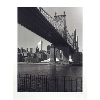 Christopher Bliss 'The 59th Street Bridge, New York - 1993' Poster