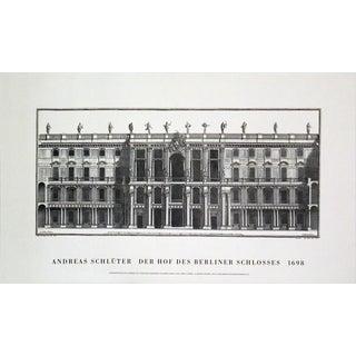 Andreas Schluter 'Der Schluterhof' 11.25-inch x 19.75-inch Lithograph Poster