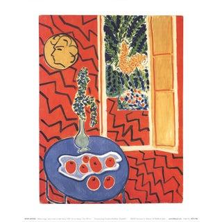 Henri Matisse 'Interieur Rouge - 2005' 11.75-inch x 9.5-inch Poster