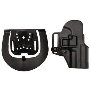 Blackhawk! Serpa CQC, Belt & Paddle Holster, Plain Matte Black Finish H&K USP Compact, Right Hand