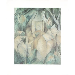 Georges Braque 'La Roche Guyon - 1987' 31.5-inch x 25.5-inch Poster