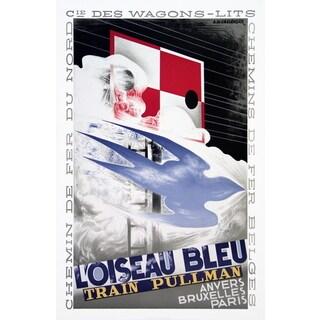 A.M. Cassandre 'L'Oiseau Bleu' 1989 Lithograph, 34.75 x 23