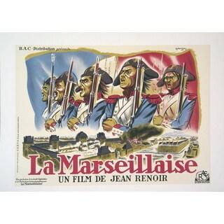 Marion 'La Marseillaise Un film de Jean Renoir' Lithograph