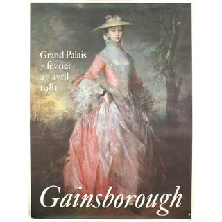 Thomas Gainsborough 'Grand Palais' 1981 Poster Wall Art