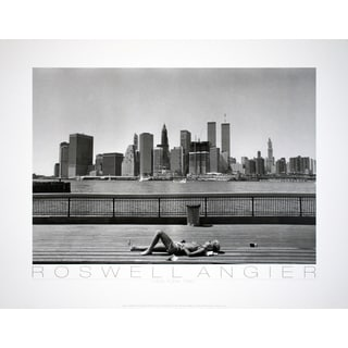 Roswell Angier 'New York (1986) - 1988' 19.5x25.5 Poster