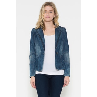 Women's Dorinda Blue Denim Jacket