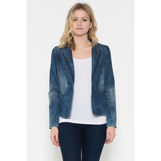 Women's Dorinda Blue Denim Jacket