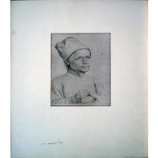 Albrecht Durer 'Portrait of a Noble' Lithograph