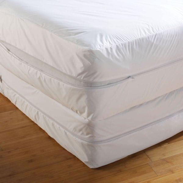 Anti Bed Bug Mattress Encasement - White