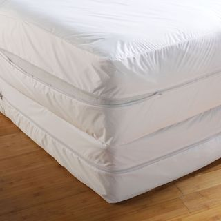 Anti Bed Bug Mattress Encasement - White