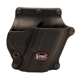 """Fobus Roto Belt Holster Browning 1911, 4"""" and 5"""" without Rail, Right Hand, Black"""