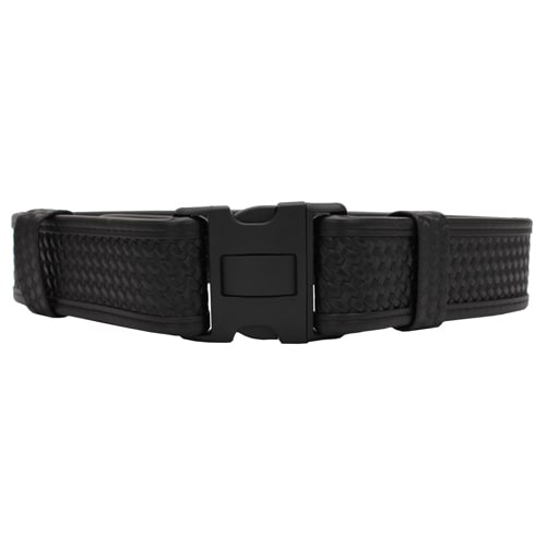 "Bianchi 7950 AccuMold Elite Sam Browne Belt Basket Black, Small 28""-34"""