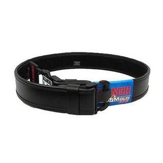 Bianchi 7950 AccuMold Elite Sam Browne Belt Plain Black, Large 40-46