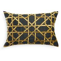 """A1HC Organzza Handcrafted Embellished 14""""X20"""" Decorative Throw Pillow"""