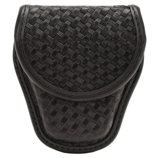 Bianchi 7900 AccuMold Elite Covered Cuff Case Hidden Snap, Basket Black, Size 1