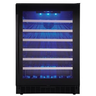 "SSWC056D1B Silhouette Select Sydney 24"" Single Zone Wine Cooler"