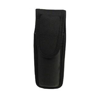 Bianchi 7307 Series AccuMold Mace/Pepper Spray Holder Hook and Loop Closure, Large, Black