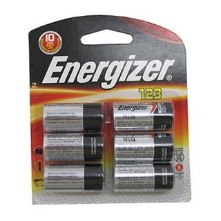Energizer 123 Lithium Batteries 6-Pack