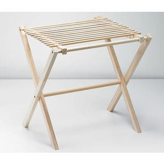Nadia's Foldable Wooden Pasta Drying Rack