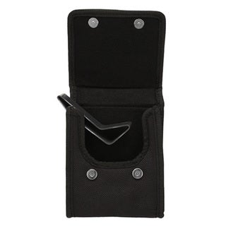 Bulldog Cases Black Nylon Vertical Phone Holster w/Belt Loop/Clip Compact 9mm